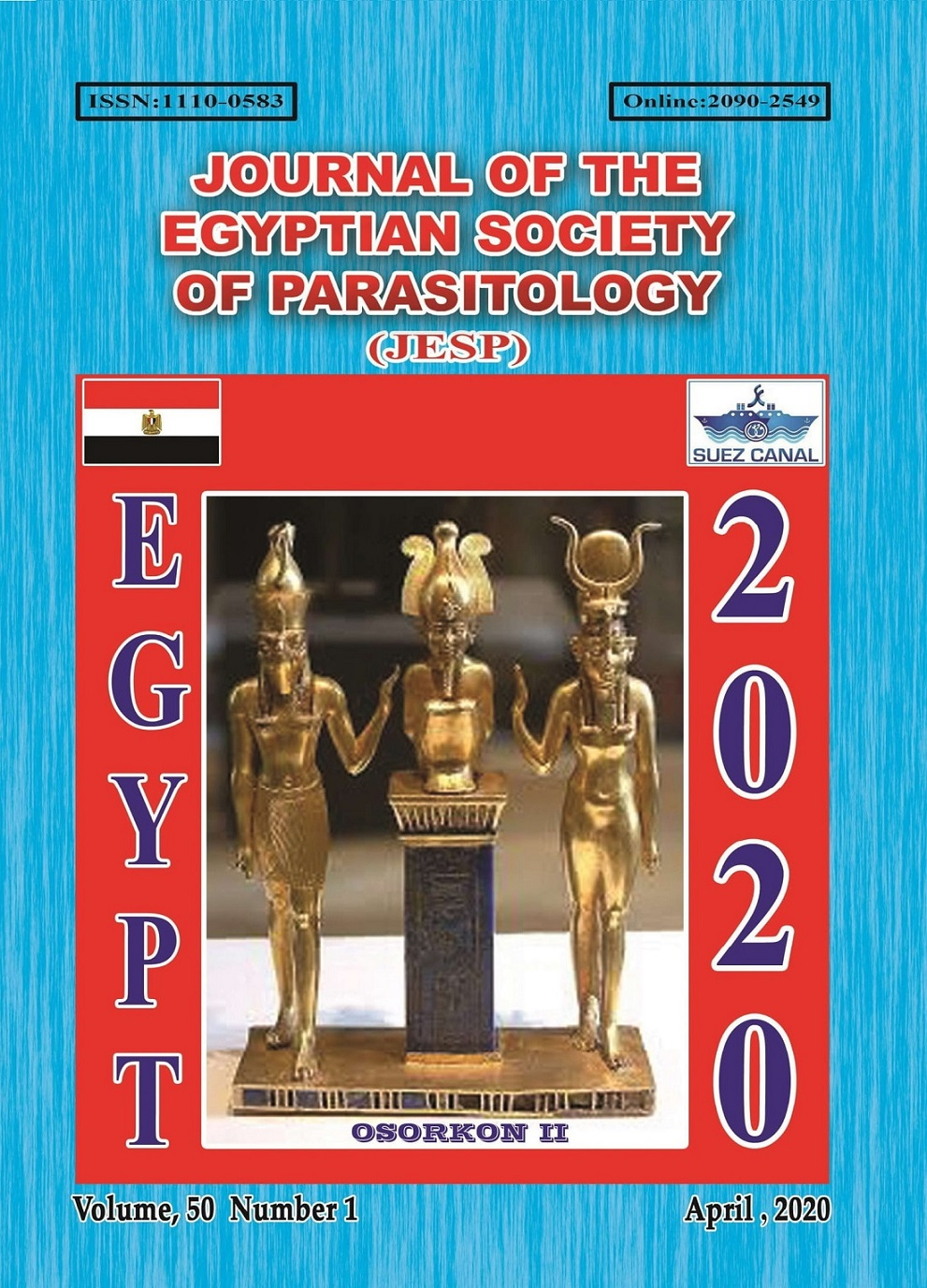 Journal of the Egyptian Society of Parasitology